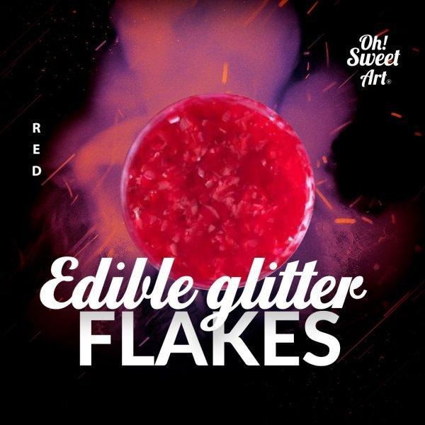 Edible Glitter Flakes