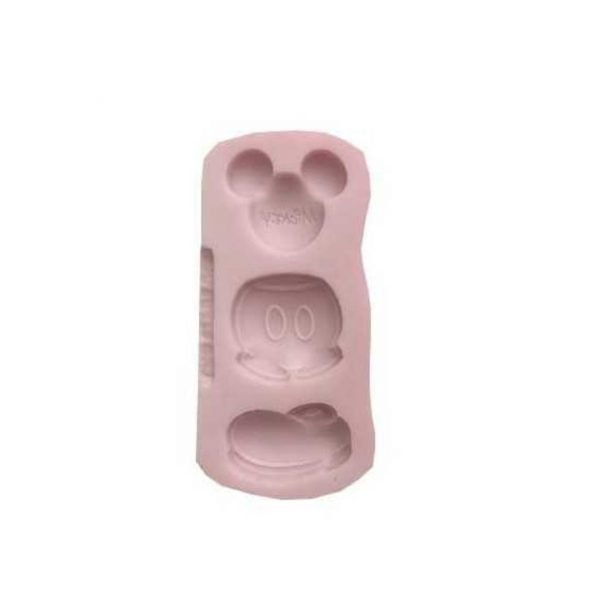 Complete Mickey Mouse silicone mold