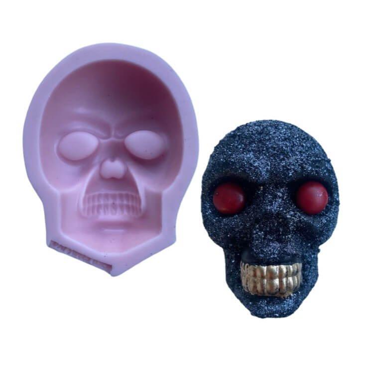 Skull Face Silicone mold