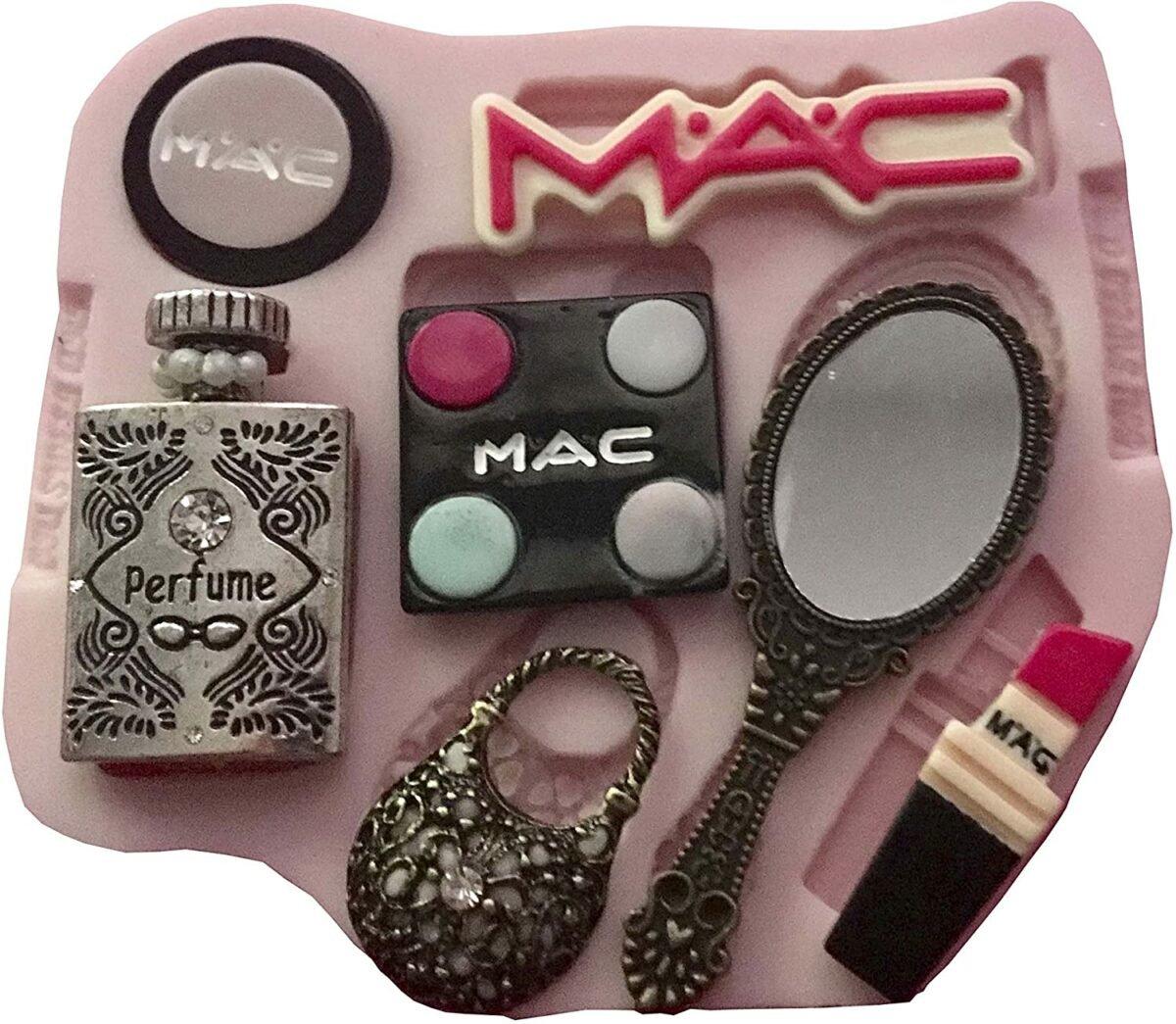 Mac Set Girl Silicone Mold