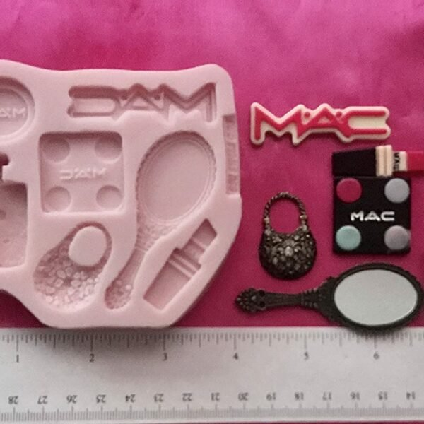Mac Set Girl Measures Silicone Mold